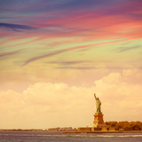 Statue of Liberty New York American Symbol USA US Photographic Print by  holbox