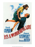 Vintage Movie Poster - It's A Wonderful Life Obrazy