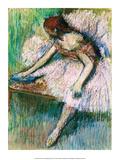 Ballerina, 1877 Print by Edgar Degas