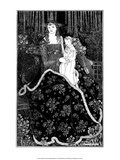 Mother and Child Art by Aubrey Beardsley