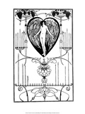 The Mirror of Love Posters by Aubrey Beardsley