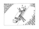 Uncle Sam - Cartoon Premium Giclee Print by John O'brien