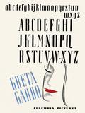 Alphabet, Typography Posters