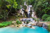 Kuang Si Waterfalls, Laos Photographic Print by Elena Ermakova
