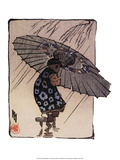 The Family Umbrella, 1915 Prints by Helen Hyde