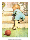 The Toddler Poster by Jessie Willcox Smith