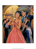 Retro Mexican Poster, Poster