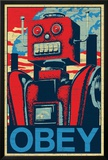 Robot Obey Posters
