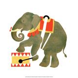 The Circus, Elephant, 1925 Prints by Vladimir Lebedev