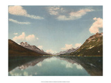 Lake Silvaplana, Switzerland, 1949 Poster