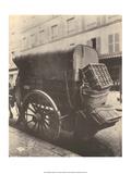 Delivery Horse & Cart, Paris, 1910 Plakater af Eugene Atget