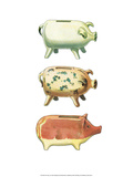 Piggy Banks - Folk Toys Prints by Emanuel Hercik