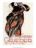 Vintage Poster Advertising , Zurich Poster