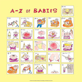 A - Z of Babies Posters by Nicola Streeten