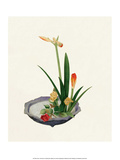 Ikebana, Arrangement of Amaryllis and Roses Posters by Koun Ohara