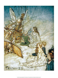 The Fairy Orchestra, 1908 Poster by Arthur Rackham