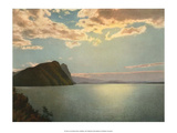 Sunset, Lake des Quatre-Cantons, Switzerland, 1949 Prints
