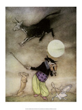 Hey Diddle Diddle, Old Nursery Thymes Posters by Arthur Rackham