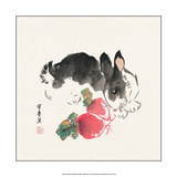 Chinese Rabbit with Turnips Prints