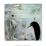Water Troll Prints by John Bauer