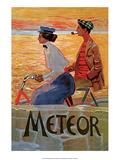 Vintage Bicycle Poster, Meteor Prints