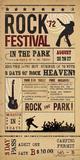 Rock Festival Giclee Print