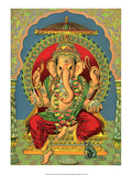 Vintage Indian Bazaar, Ganesha Prints