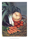 Vegetable Harvest Prints