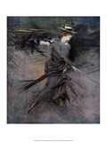 Walking, 1910 Print by Giovanni Boldini