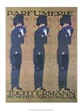 Vintage Poster Advertising Parfumerie Print