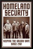 Star Trek- Homeland Security Prints