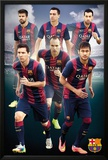 Barcelona - Players 14/15 Posters