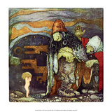 Baby in a Troll's House Prints by John Bauer