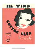 Vintage Music Sheet, Cotton Club Art