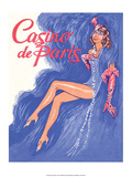 Jazz Age Paris, Casino de Paris Poster