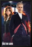 Doctor Who - Doctor & Clara Print