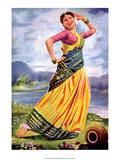 Vintage Bollywood Star, Shashikala Prints