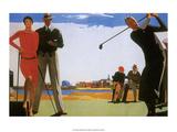 Vintage Golf Poster Prints