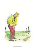 Retro Poster, Playing Golf Prints