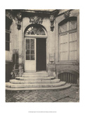 Paris Courtyard Doorway Print by Eugene Atget