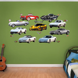 Corvette Generations Collection Wall Decal