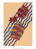 India Folk Art, Turtles Print