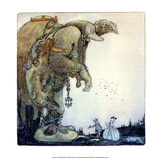 Trolls with People Posters by John Bauer
