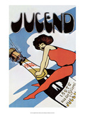 Vintage Jugend Magazine Cover Posters