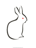 Japanese Rabbit Art