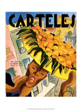 Carteles, Retro Cuban Magazine, Orange Seller Posters