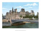 Vintage Paris Postcard - Le Pont Alexandre III Prints