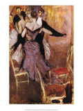 Dancing in Mauve, 1922 Poster by Giovanni Boldini