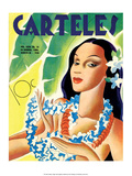 Carteles, Retro Cuban Magazine, Local Havana Beauty Prints