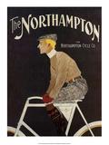 Vintage Bicycle Poster, The Northampton Prints